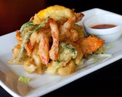 Shrimps And Vegetables Tempura